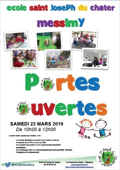 Invitation Portes Ouvertes Ecole St Joseph 19